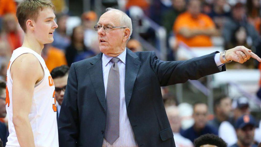 Syracuse Misspells Last Name On Jersey Of Coach Jim Boeheim S Son