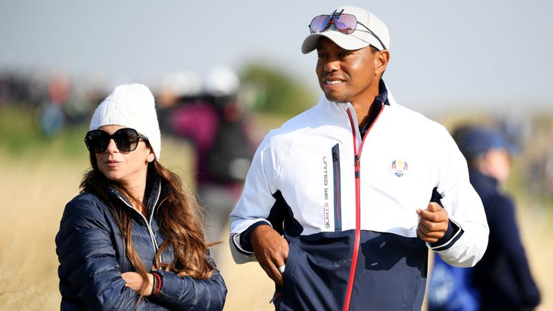Is tiger today who dating Who is