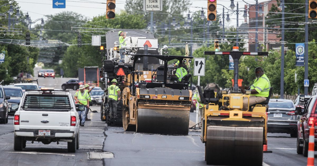 ODOT Ohio 48 work in Kettering causing traffic delays