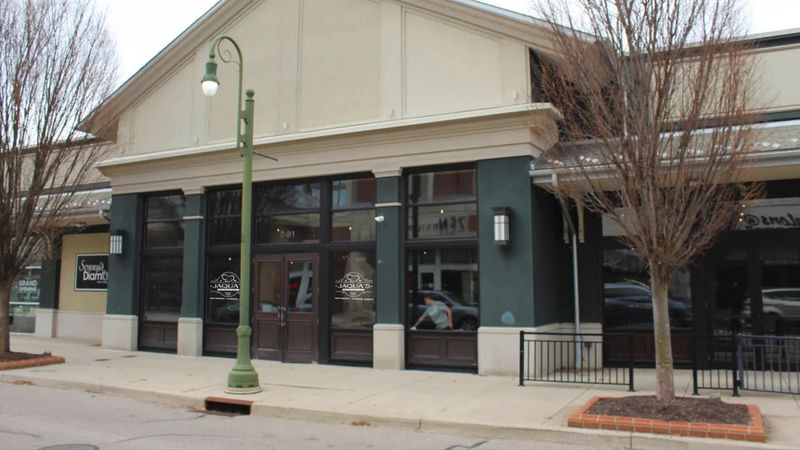 Jaqua's will be located at 81 Magnolia Lane Suite 214 at The Greene, near Choe's Asian Gourmet restaurant and across the street from Von Maur.