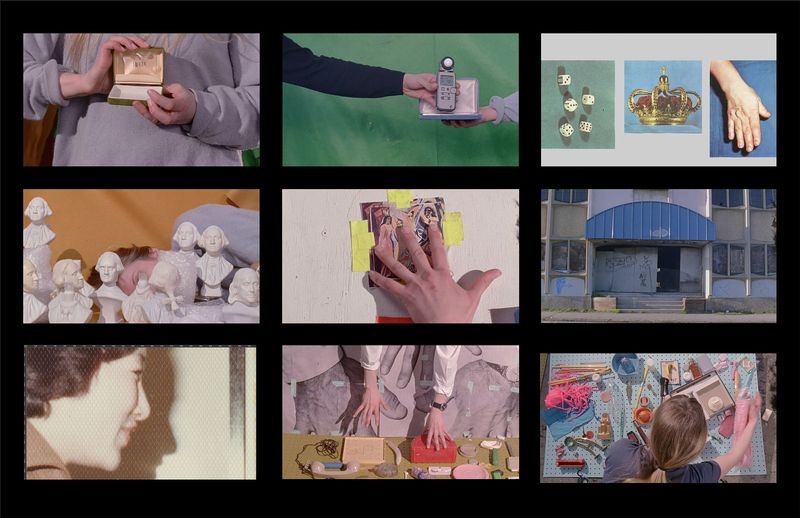 """A still composite from """"Soft Films,"""" by artist Sara Cwynar.   CONTRIBUTED PHOTO"""