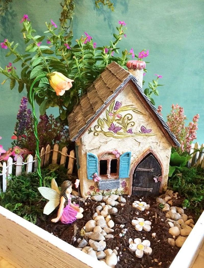 The LIttle Fairy Garden Shop in Yellow Springs sells fairy-themed gifts, plants, art and handmade fairy costumes. CONTRIBUTED
