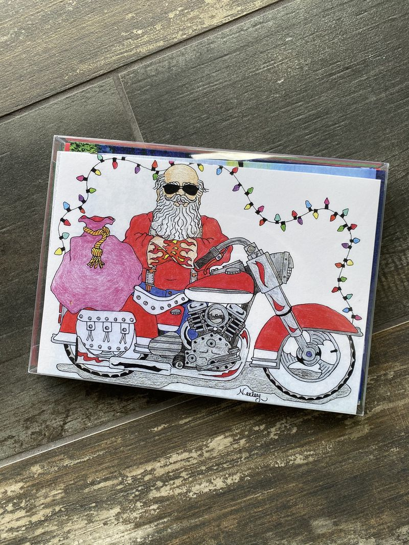 Christmas cards for sale at We Care Arts. CONTRIBUTED