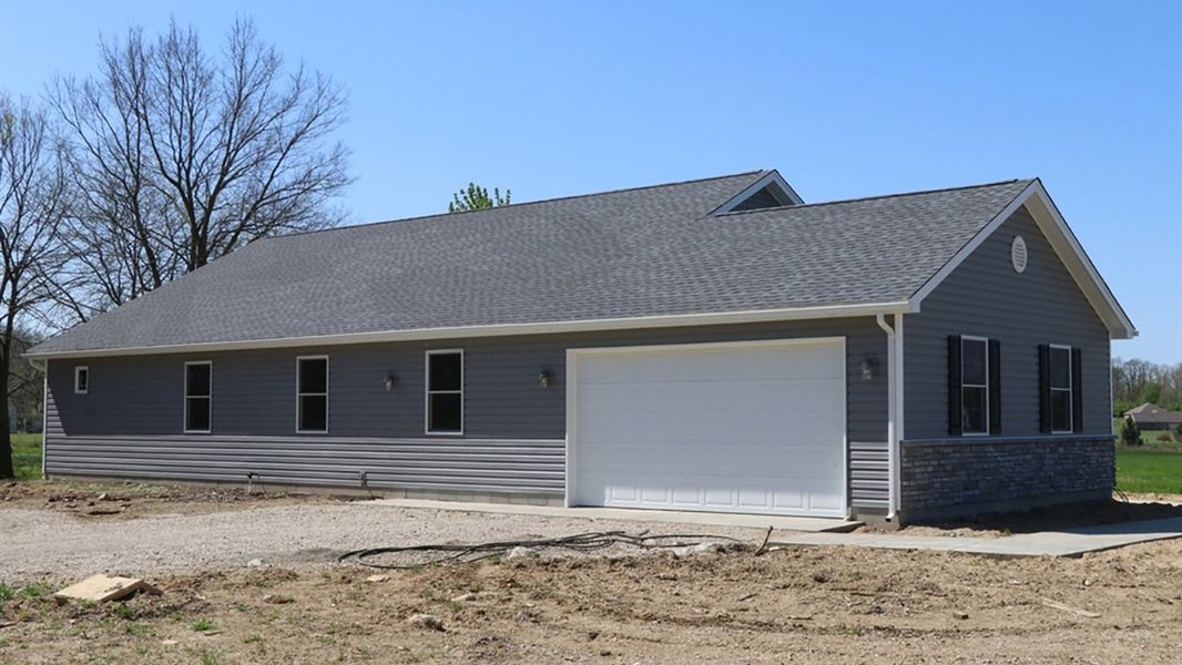 Newly Constructed Ranch Has Possible 4th Bedroom