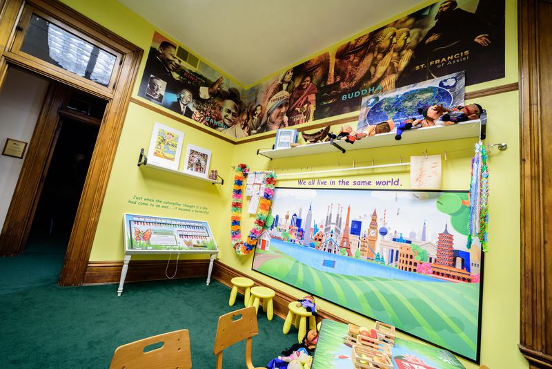 The Dayton International Peace Museum, located at 208 W. Monument Ave. in downtown Dayton inside the historic Isaac Pollack House, is America's only brick and mortar peace museum. TOM GILLIAM/CONTRIBUTING PHOTOGRAPHER