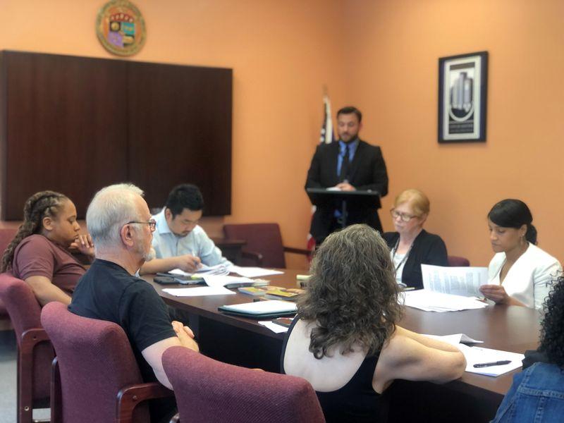 The Dayton Human Relations Council board met earlier this week. CORNELIUS FROLIK / STAFF