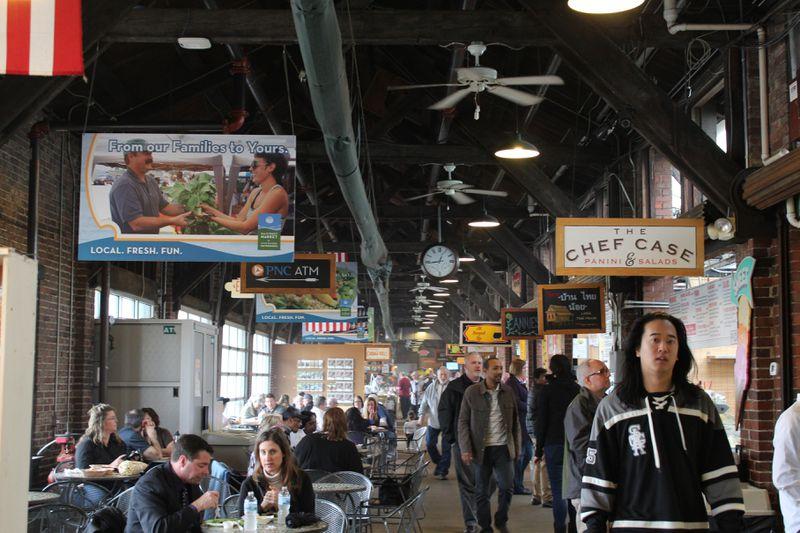 The 2nd Street Market before COVID-19.  CORNELIUS FROLIK / STAFF