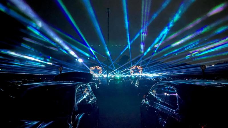 Μια εκπομπή φωτός με λέιζερ θα οδηγηθεί στις εκθέσεις του Montgomery County 9-12 Σεπτεμβρίου.
